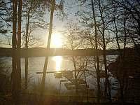 Západ slunce v Marině - Orrlická přehrada - Radava