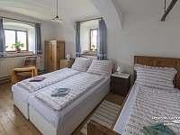 Druhá ložnice - apartmán ubytování Kačlehy