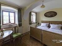 Hlavní ložnice - apartmán ubytování Kačlehy