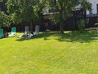 Zahrada - chata ubytování Roudná