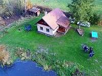Chata přímo u břehu Lužnice - ubytování Bečice