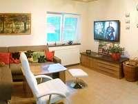 obývací pokoj - chata ubytování Roudná