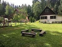 Hluboká u Borovan ubytování 4 osoby  pronájem