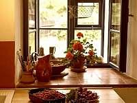 Detail kuchyně - chalupa k pronajmutí Sumrakov