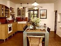 Kuchyň - chalupa ubytování Sumrakov