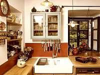 Kuchyňská linka - pronájem chalupy Sumrakov