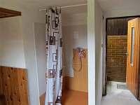 Ubytování Kubínovi_Domanín_ Chata_Sprchový kout v podsklepené části