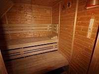 Chalupa Lipno se saunou - chalupa k pronajmutí - 20 Slupečná