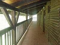 terasa u 3lůžkových apartmánů - Nová Olešná