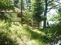 Chata k pronájmu v přírodě u rybníka Dubné