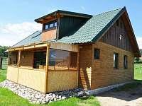Možnost ubytování v lovecké chatce u obory se zvěří