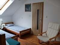 Ložnice č.4 horní část pro 2 osoby - u vchodu do koupelny