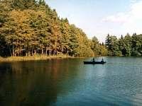 rybolov na rybníku Amerika