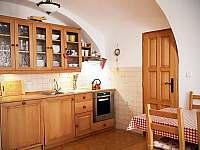 Kuchyně - chalupa k pronájmu Blato u Nové Bystřice - Česká Kanada