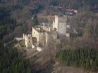 Zřícenina hradu Landštejn - možnost turistiky