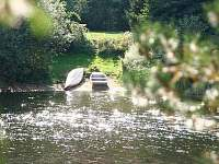 loďky k dispozici - chata ubytování Kunžak