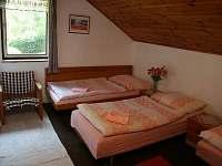 třílůžková ložnice s přistýlkou