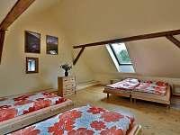 Apartmán 1 - Ložnice 2 - pronájem chalupy Jilem
