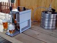 Možnost zapůjčení výčepu + dodání piva - chalupa k pronájmu Jilem
