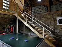Ping Pong, Vchod Apartmán 3 - chalupa ubytování Jilem