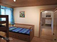 ložnice 2 - pronájem chalupy Radomilice