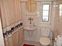 koupelna u 3 lůžkového pokoje - Český Krumlov