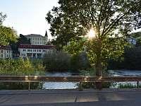 pohled na řeku - Český Krumlov