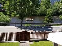 pohled na řeku - ubytování Český Krumlov