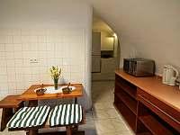 kuchyně - chalupa ubytování Planá u Českých Budějovic