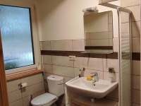 koupelna apartmán 2 - pronájem chaty Smržov u Lomnice nad Lužnicí