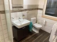 koupelna apartmány Dvořiště - chata k pronajmutí Smržov u Lomnice nad Lužnicí