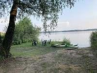 Vstup do vody, sezení, kanoe - Smržov u Lomnice nad Lužnicí