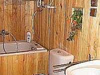 Koupelna - pronájem chalupy Dobřejovice