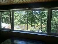 společen.místnost - pohled na řeku
