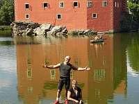 výlet na vodní Zámek Červená Lhota - úžasný den :-)