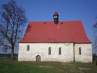 místní kostelík - Dobronice u Bechyně