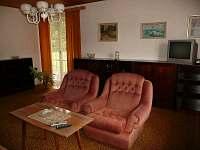 obývací pokoj - pronájem chalupy Záluží