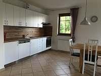 Kuchyňský kout - vila ubytování Lipno nad Vltavou