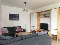 Obývací pokoj - vila k pronajmutí Lipno nad Vltavou