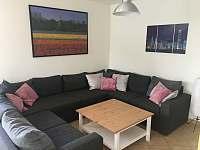 Obývací pokoj - vila ubytování Lipno nad Vltavou