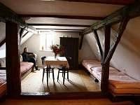 jeden z apartmánů - ubytování Strmilov