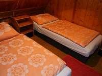 ložnice - chata k pronajmutí Strmilov