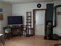 obývací pokoj - chata k pronajmutí Přední Zvonková