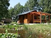 Chata k pronájmu - dovolená  Pěnenský rybník - Dřevo rekreace Potočná