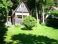 Chaty a chalupy Pěnenský rybník - Dřevo na chatě k pronájmu - Malý Ratmírov