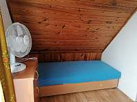 ložnice - chata k pronajmutí Vlachnovice