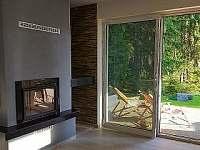 Apartmány LIPNOczech_krbová horkovzdušná vložka k pohodlí na apartmánu
