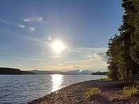 pohled na jezero Lipno z Lojzových pasek