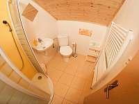 2 lůžkový pokoj č. 1, WC a sprcha - pronájem rekreačního domu Trhové Sviny