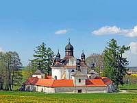 kostel Nejsvětější Trojice na Svaté Trojici - rekreační dům k pronájmu Trhové Sviny
